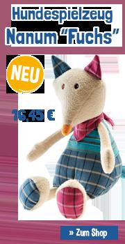 """Hundespielzeug Nanum """"Fuchs"""""""